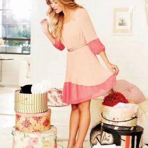 Lauren Conrad Women's Coral Blush Dress